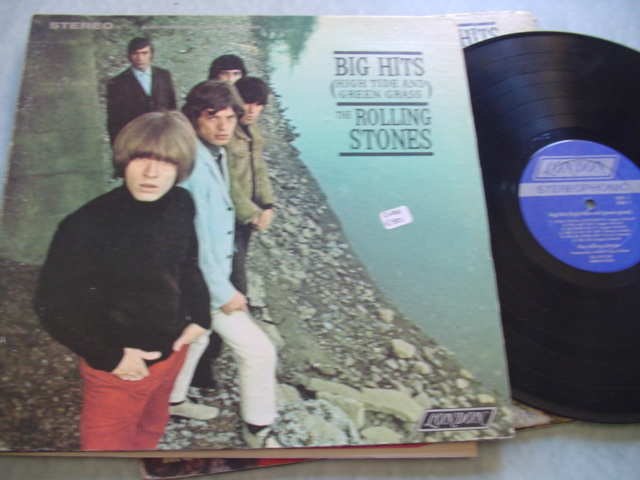 ROLLING STONES - BIG HITS - LONDON STEREO NPS 1